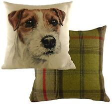 Waggydogz Parson Jack Russell Cushion Cover  NEW   17x17""
