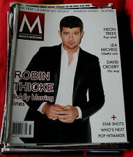 Music & Musicians Usa Magazine #33 Robin Thicke Neon Trees David Crosby The Fray