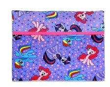 My Little Pony Toddler Pillowcase on Violet Cotton MLP7-13 New Handmade