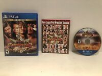 Fire Pro Wrestling World (PlayStation 4, 2019) PS4 Complete CIB