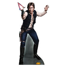 HAN SOLO Star Wars Retouched Lifesize CARDBOARD CUTOUT Standup Standee Poster