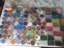 Lotto Stock Perline In Vetro Per Hobby Creativi Diy Collane Orecchini Fai Da Te
