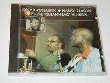 CD 1987 Oscar Peterson with Harry Edison & Eddie Vinson PABLO 2310-927