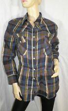 BEL AIR Taille 1 36  NEUF ETIQUETTE superbe chemise à carreaux femme blouse