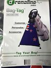 Adrenaline Products Bag Tag Golf Bag Accessory Brand New Pick Your Country