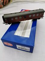 Heljan 5027 CP 2872 DSB Vagon de pasajero escala H0 modelismo ferroviario