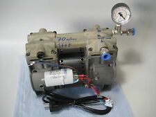 Thomas Pumpe Vakuumpumpe Kompressor USA Refurbished -930 mbar 120l/min Ölfrei!