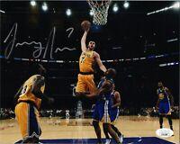 "LARRY NANCE JR. Authentic Hand-Signed ""LOS ANGELES LAKERS"" 8x10 Photo (JSA COA)"