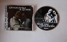 Crackaveli & D-Irie Nur Die Starken GER CDSingle 2005 Crunk / Gangsta
