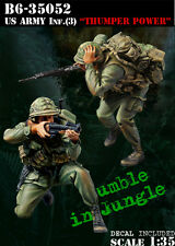 1/35 Scale resin kit Vietnam US Army Inf (3) Thumper Power (Rumble In Jungle)