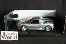 Hot Wheels Elite transkit Ferrari 360 Modena Spider hard top 1:18 grey (PJBB)