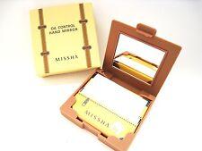 [Missha] Oil Control Paper Pact (50 sheet)  &  Hand Mirror