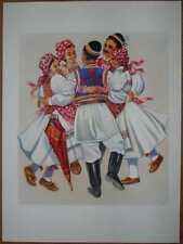 """Croatia Folk Dances - """"Drmes"""" Sestine Zagreb - V/01"""