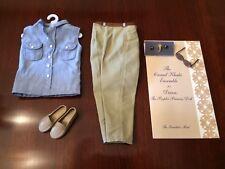 Franklin Mint Princess Diana Vinyl Portrait Doll Casual Khaki Outfit/Ensemble