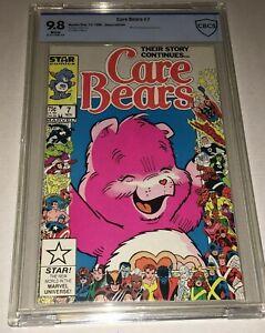 Care Bears #7 CBCS 9.8 NM/MT Marvel Star Comics 1986