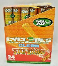Box 24 Cyclones TIKI TANGO King Size Flavored Pre Rolled Cones Free Shipping