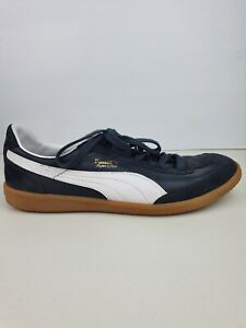 PUMA Super Liga Suede Sneakers Navy Blue Size US 9.5 UK10.5 Very Good Condition