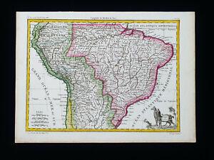 1810 LAPIE: SOUTH AMERICA, PERU, BOLIVIA, BRAZIL, RIO DE JANEIRO, ARGENTINA...