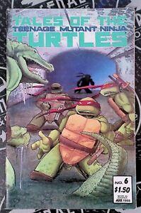 Teenage Mutant Ninja Turtles #6 1988 Mirage Comics 1st Leatherhead App and Cover
