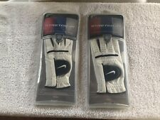 Nike Stretch Jr Left Hand Golf Glove Junior Size:L 19cm New-in-Package. Lot Of 2