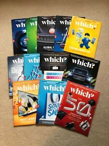 Which? Magazines Complete Year January - December 2020