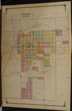 Iowa Tama County Map Toledo  1916 Dbl Pg  J12#86