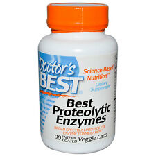 Doctor's Best Proteolytic Enzymes - 90 Vcaps - Boost Metabolic Function