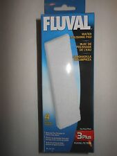 Fluval 3 Plus 4 pack Filter Water Polishing Pad A191 A-191