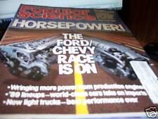 Popular Science 10/1988 Horsepower Ford vs Chevy