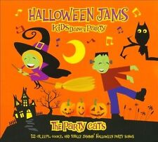 Halloween Jams Kids Dance Party [Digipak] by The Party Cats (CD, Aug-2010, Treehouse Entertainment)