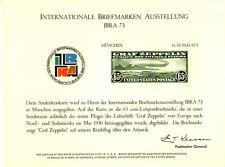 1973 Internationale Briefmarken Ausstellung / Intl Stamp Exhibition Item #2478