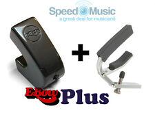 Ebow Electrónicos E-arco Plus para efectos de guitarra! incluye Con Palanca De Guitar Capo