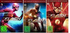 The Flash Staffel 1-3 (1+2+3) DVD Set NEU OVP DC Serie