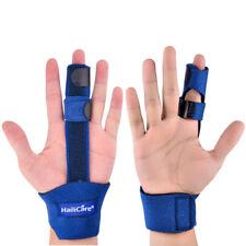 Trigger Finger Splint Support Brace for Straightening Curved Bent Universal Size