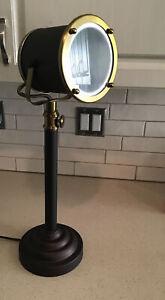 Intertek Howin Lamp Base Model No.: HX- T0822 Gold & Bronze Color
