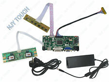 HDMI LCD LVDS Controller Board Plus Power Supply For M201EW02 1680x1050 4CCFL 5V