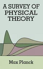 A Survey of Physical Theory (Dover Books on Physics)-ExLibrary