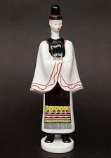 Vintage Budapest Aquincum Porcelain Figurine Man in Native Hungarian Dress