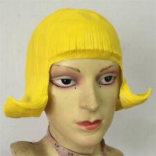Halloween Wig Hair Overhead Mask Hood Haloween Cosplay Masque Party Latex NEW