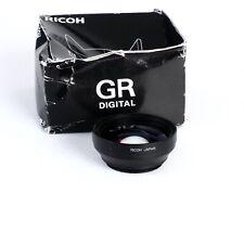 ^ Ricoh GW-1 Wide Angle Lens Conversion 21mm