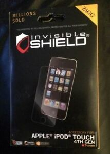 ✅ Zagg - Invisible Shield Apple Ipod Touch 4th Generation - LIFETIME WARRANTY