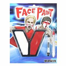 Red & White Face Body Paint Fancy Dress Football England Other Teams Red & White