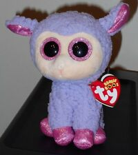 """Ty Beanie Boos ~ Lavender the 6"""" Lamb ~ Stuffed Plush Toy ~ New with Mint Tags"""
