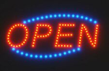 Giant Led Open Sign by Spring Rose: 24�x13� Animated Business Billboard with