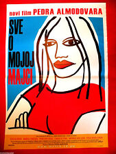 ALL ABOUT MY MOTHER 1999 PEDRO ALMODOVAR CECILIA ROTH SERBIAN MOVIE POSTER # 2