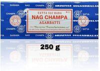 Nag Champa Incense Sticks 250 Grams Box -NEW GENUINE 2020. FREE SHIPPING