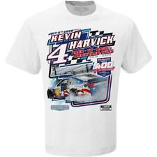 Kevin Harvick White 2020 Brickyard Indy Race Win One Sided T-Shirt - Free Ship