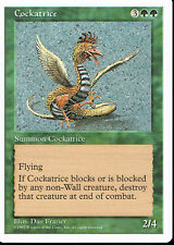 MAGIC THE GATHERING 5TH EDITION GREEN COCKATRICE