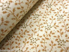 tela de cortina Delicado Algodón Estampado Floral Material 170cm x 138cm Costura