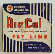 VINTAGE SCIENTIFIC ANGLERS AIR CELL FLY LINE ~ L5F ~ SIZE D ~ 25 YARDS W/ MANUAL
